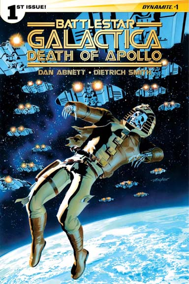 Battlestar Galactica: Death of Apollo #1 Mayhew cover