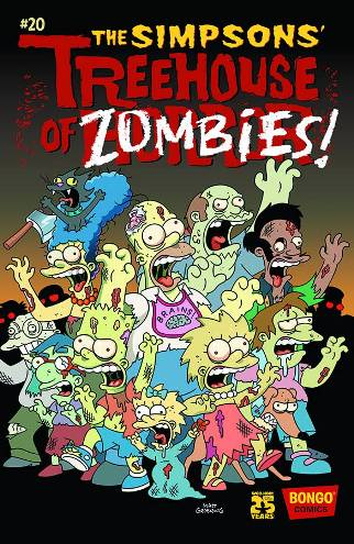 The Simpsons' Treehouse of Horror #20!