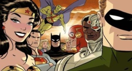 Justice League #37 Darwyn Cooke Variant cover