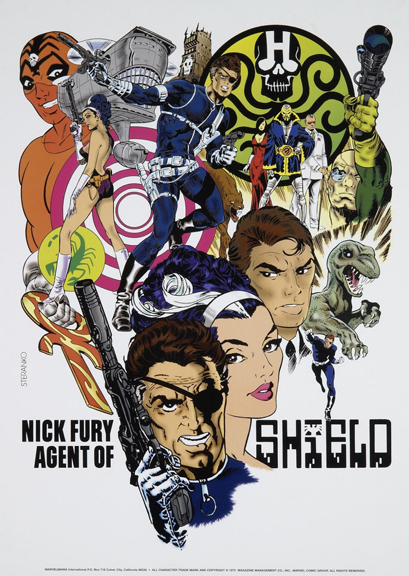 Steranko Nick Fury of SHIELD poster