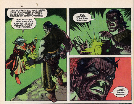 Green Lantern Quarterly #8. Probert Art by Enrique Villagran
