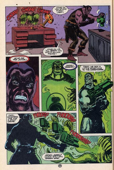 """Green Lantern Quarterly #8 Probert. Art by Enrique Villagran."""