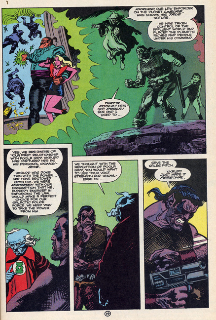 """Green Lantern Quarterly #8 Probert. Art by Enrique Villagran"""