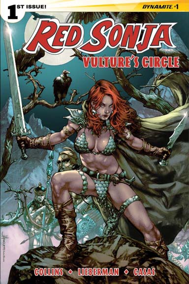 Red Sonja: Vulture's Circle #1 cover by Jay Anacleto