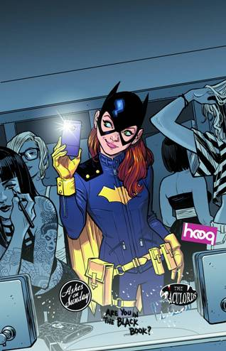 The Re-Invention of Barbara Gordon in Batgirl #35