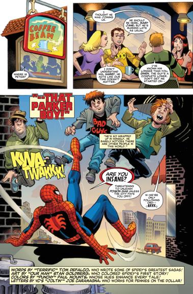 Spider-Man by Tom DeFalco & Stan Goldberg