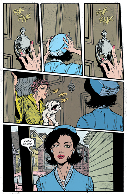 Lady Killer #1 preview page 1