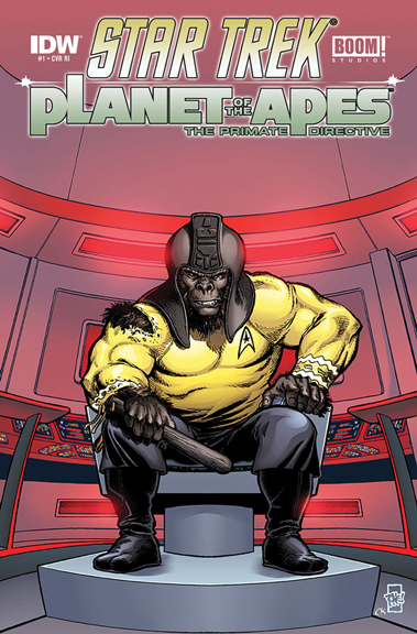 Star Trek/Planet Of The Apes From IDW Publishing and BOOM! Studios.