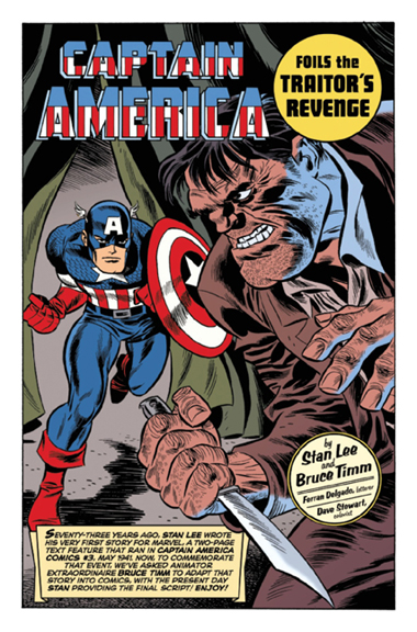 Captain America by Stan Lee & Bruce Timm