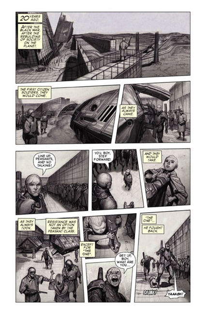 KOMACON: Warshaw: The Machinist by Beau Smith & Rock-He Kim. Image Comics.