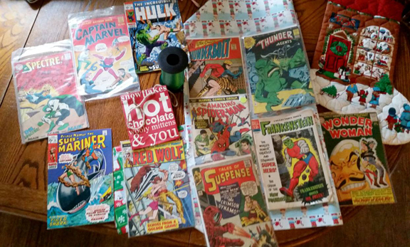 """Could these Comics Be Waiting For You Under Your Tree From Santa Beau?"""