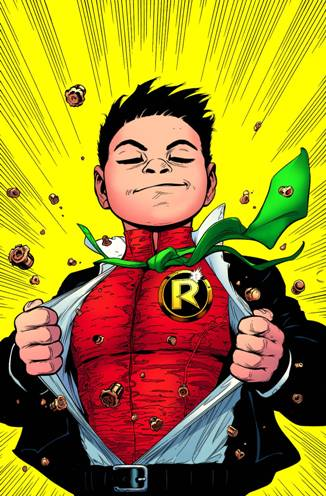 Robin Rises in Batman and Robin #38