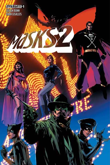 Masks 2 #1 Butch Guice cover