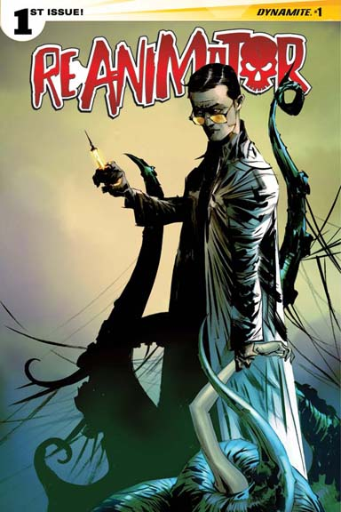 Reanimator #1 cover by Jae Lee