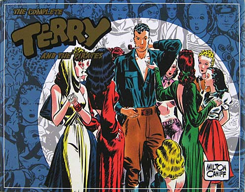 Terry And The Pirates from The Library Of American Comics.