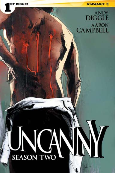 Uncanny: Season Two #1 cover by Jock