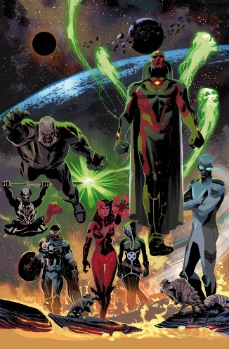 Uncanny Avengers #1 By Rick Remender and Daniel Acuña