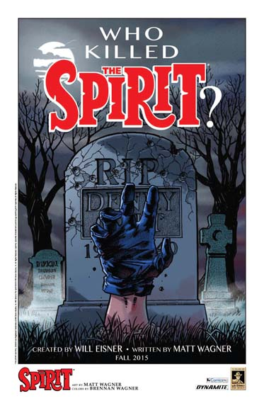 The Spirit art by Matt Wagner