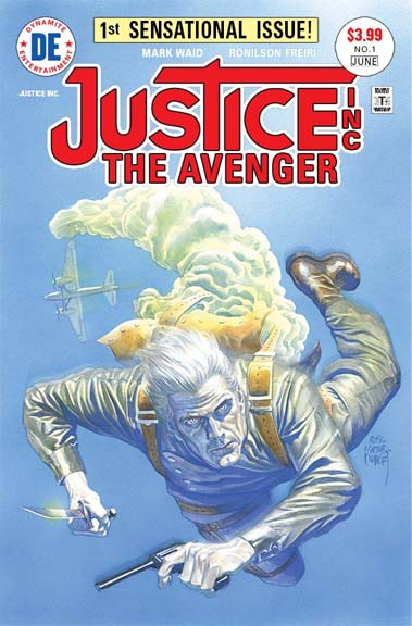 Justice Inc.: The Avenger #1 cover by Alex Ross