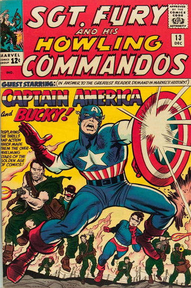 Sgt. Fury and his Howling Commandos #13