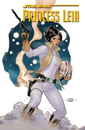 Mark Waid and Terry Dodson's Princess Leia #1 (of 5)