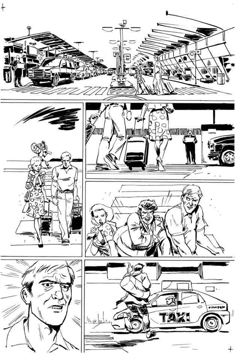 Dirk Gently's Holistic Detective Agency #1 preview page 2. Art by Tony Akins.