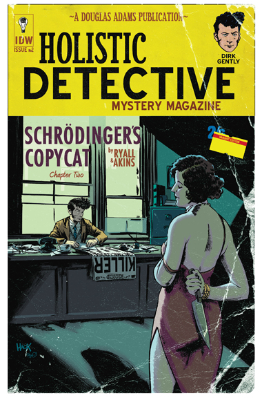 Dirk Gently's Holistic Detective Agency #2 cover by Robert Hack