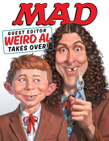 Weird Al Yankovic Guest Edits MAD Magazine #533