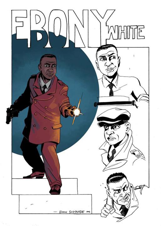 Ebony character design by Dan Schkade
