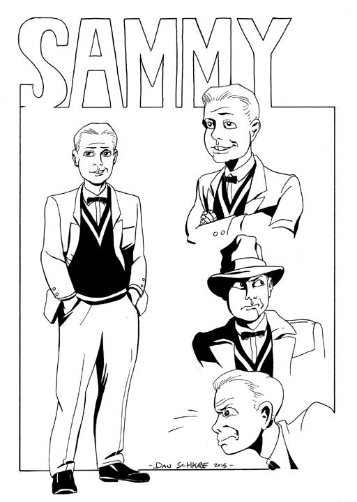 Sammy character design