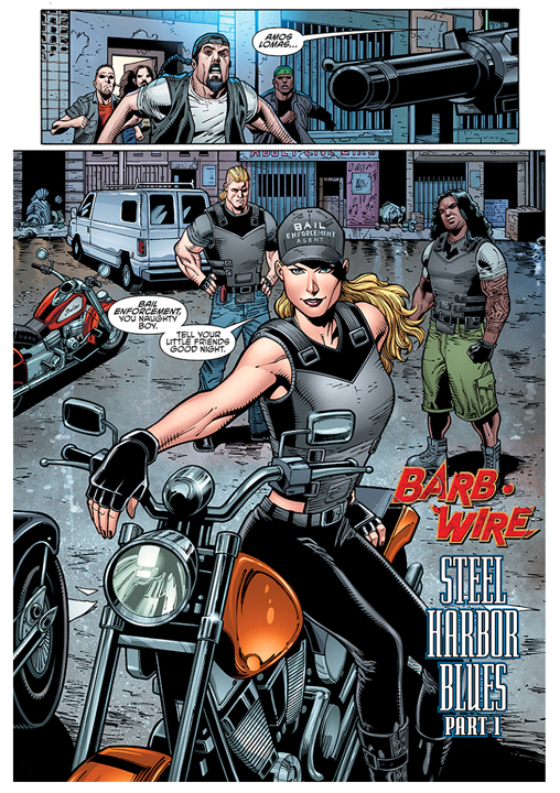 Barb Wire #1 preview page 1