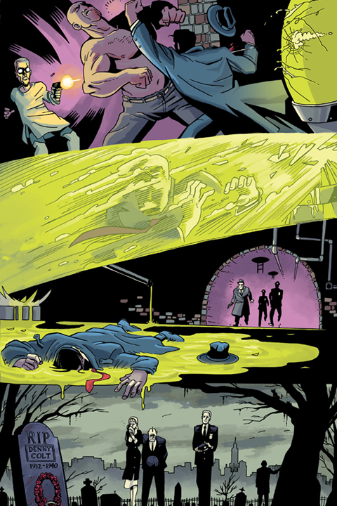 Will Eisner's The Spirit #1 preview page 2