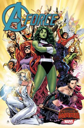 Marvel's All-Female A-Force #1