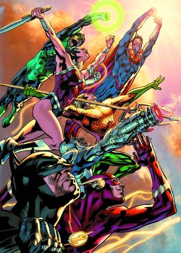Bryan Hitch's Justice League of America #1