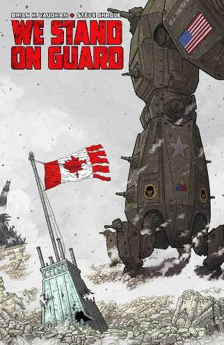 Brian K. Vaughan & Steve Skroce's We Stand On Guard #1