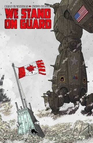 Brian K. Vaughan & Steve Skroce's We Stand On Guard #1