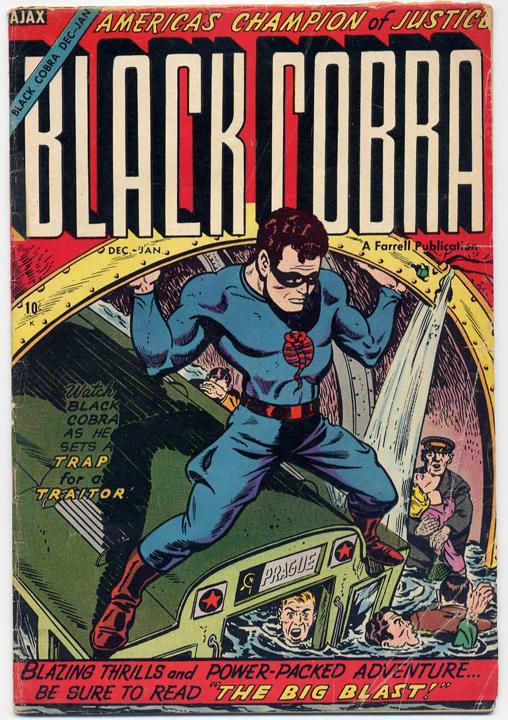 Black Cobra #6. Excellent Publications. 1954