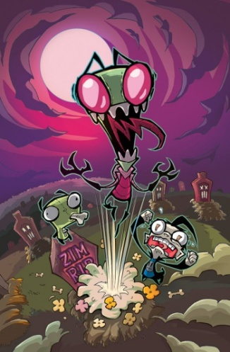 Oni Press' Return of Invader Zim!