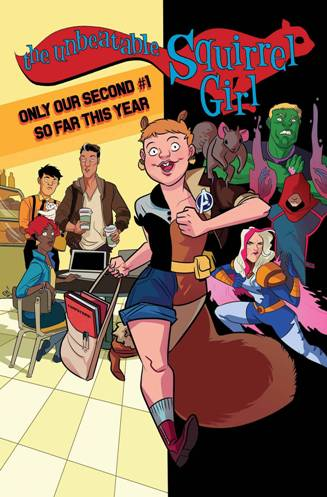 Once Again, The Unbeatable Squirrel Girl #1
