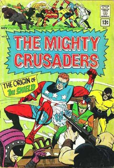 The Mighty Crusaders Archie Comics