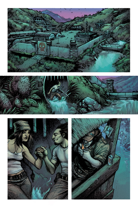 Devolution #1 preview page 4. Art by Jon Wayshak