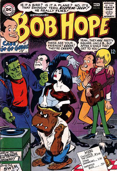 The Adventures of Bob Hope #95. Cover by Bob Oksner