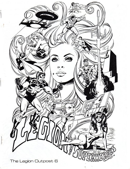 Legion Outpost #6 cover by Dave Cockrum