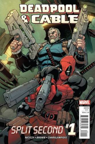 Deadpool Cable Split Second #1 (of 3)