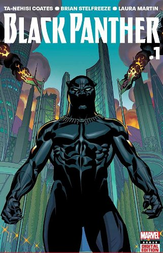 April's Black Panther #1 By Ta-Nehisi Coates and Brian Stelfreeze