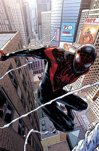 Miles Morales Stars In Marvel's Spider-Man #1