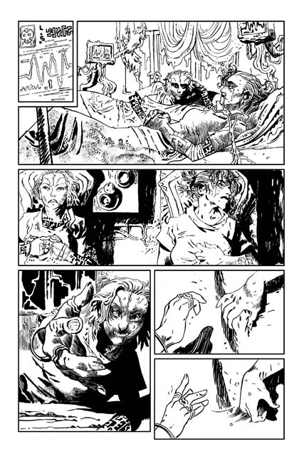 Turncoat #1 preview page 2. Art by Artyom Trakhanov