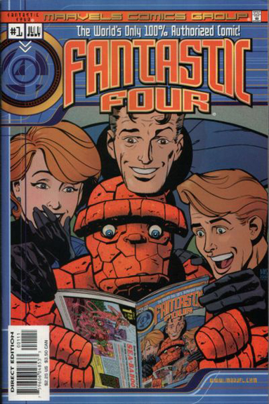 Marvels Comics: Fantastic Four #1