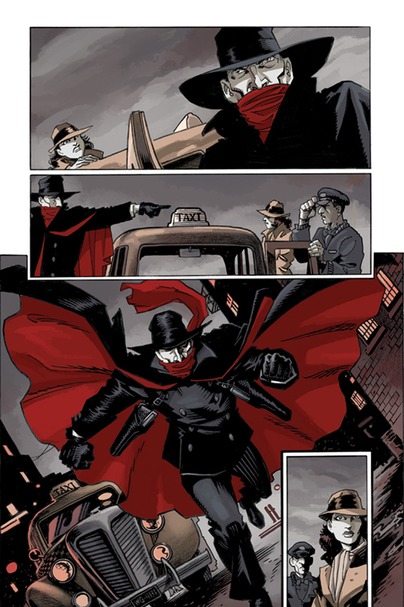 The Shadow: The Death of Margo Lane #1 preview page 3