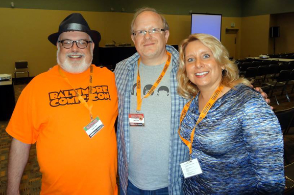Westfield's Roger Ash with Mark Waid & Christina Blanch